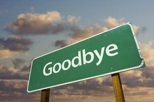 "It's hard to say, ""Goodbye."""