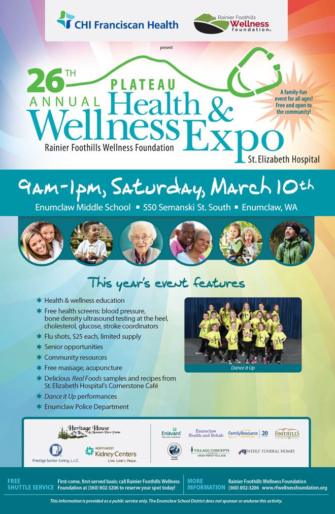 Enumclaw Health & Wellness Expo!